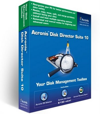acronis disk director suite Increase disk partition size