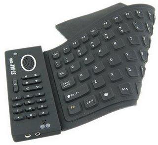 flexible keyboard Paper Keyboard