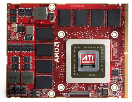 mobile radeon Mobililty Radeon 4870 X2 for gaming enthusiasts