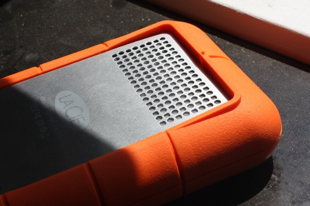 lacie 1tb external LaCie 1TB Rugged XL external hard drive goes well with netbooks