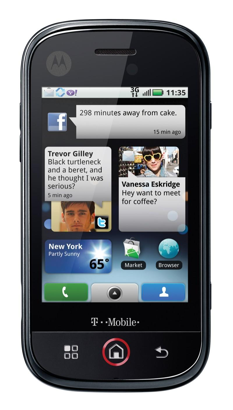 motorola cliq high quality Motorola's first Android Phone   CLIQ