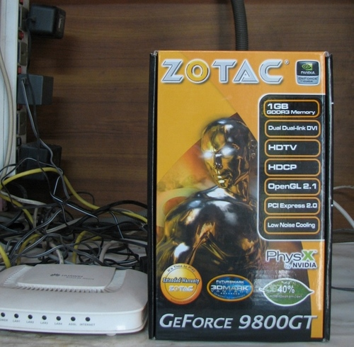 ZOTAC 9800 GT   review and guide
