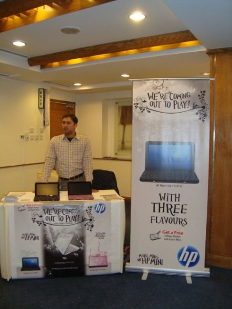 hp mini Attending HP MINI Official launch