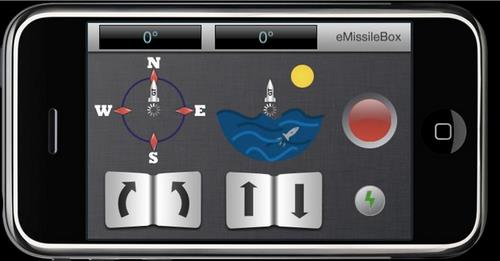 iphone missile iPhone Controlled Missile Launcher