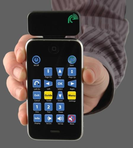 iphone remote Turn you iPhone into Universal IR Remote