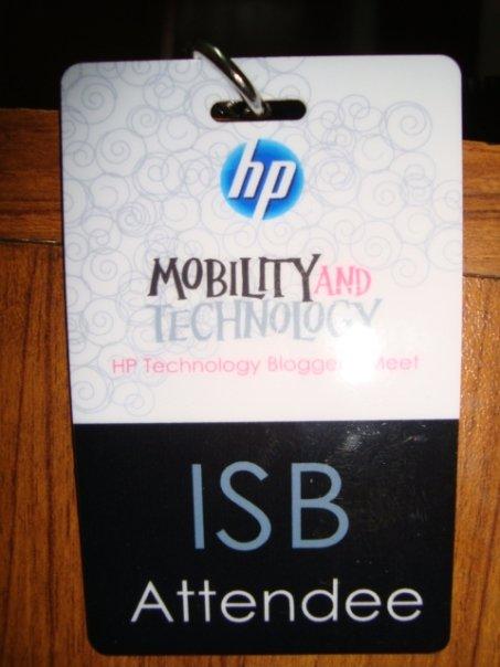 isb hp pakistan Attending HP MINI Official launch