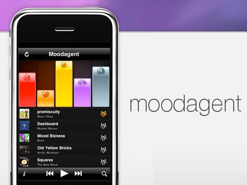 moodagent Moodagent plays Music Based On Your Mood