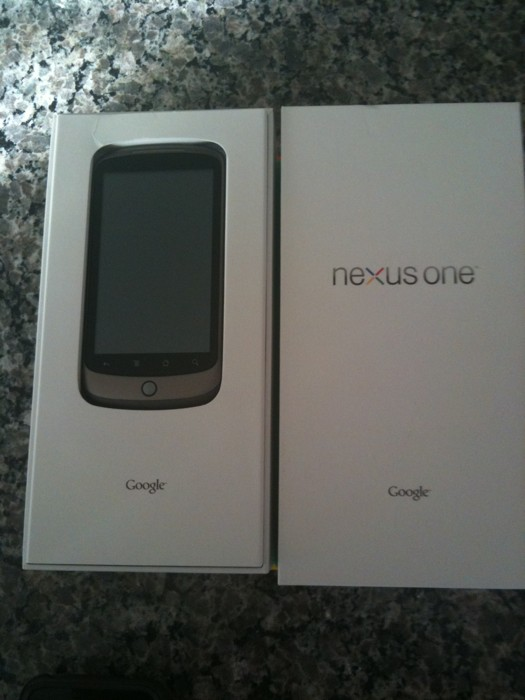 More Google Nexus One Pictures and Video