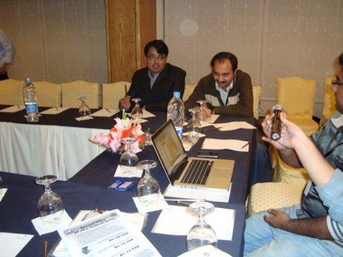 pro pakistani Attending HP MINI Official launch