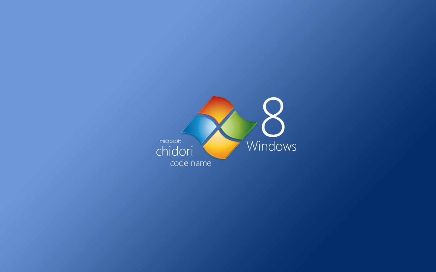 chidori Windows 8 Wallpapers