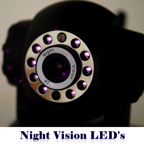led night vision Deploy Surveillance at your Home and Office