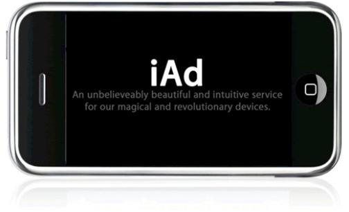 apple iad Apple to Start Mobile Advertisement