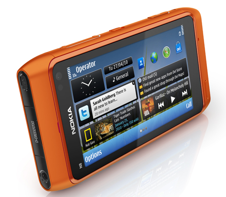 Nokia N8 orange Nokia N8 to rival dedicated point and shoot cameras