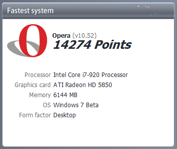 Download Opera 10.52 for Mac