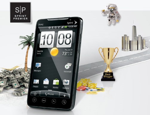 Sprint: Win Americas first 4G phone