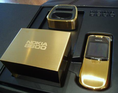 Nokia 8800 gold 6 Most Expensive Nokia Cellphone Redesigns