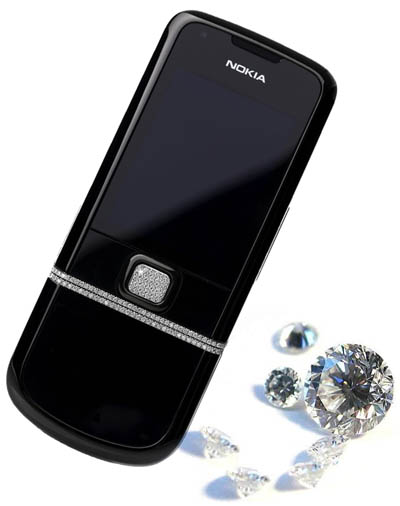 Nokia N8800 Diamond 6 Most Expensive Nokia Cellphone Redesigns