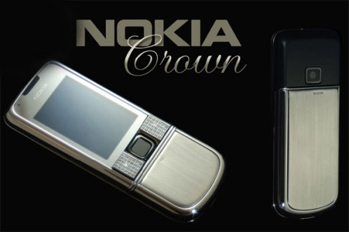 nokia crown 6 Most Expensive Nokia Cellphone Redesigns