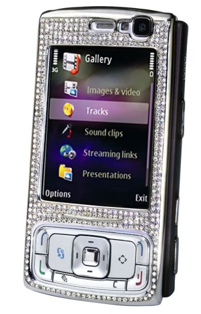 nokia n95 diamond 6 Most Expensive Nokia Cellphone Redesigns