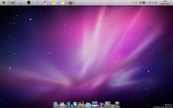 OSX transformation Turn Windows 7 into Mac OSX with Snow Transformation Pack