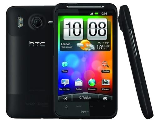 desire hd HTC Reveals Desire Z and Desire HD [Comparison]