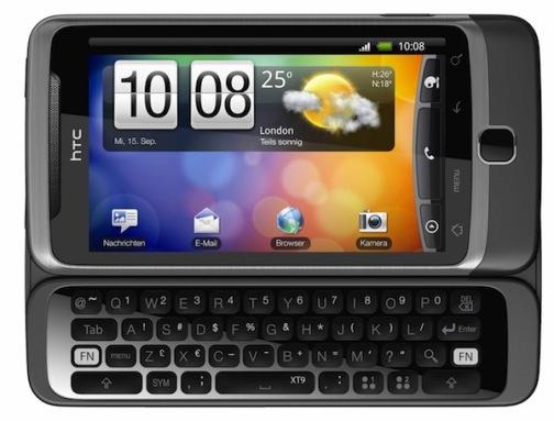 desire z HTC Reveals Desire Z and Desire HD [Comparison]