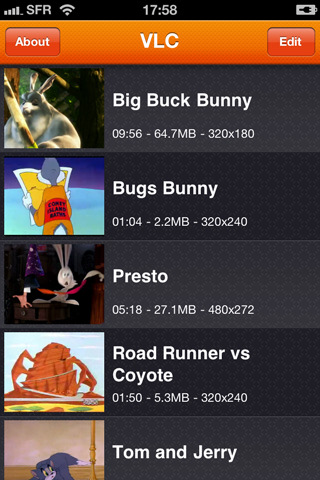 vlc iphone application VLC Media Player comes to iPhone and iPod Touch