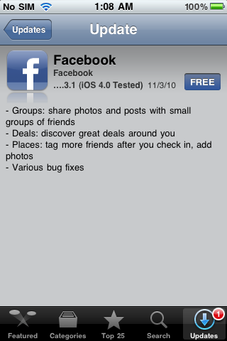 IMG 00031 Facebook 3.3.1 Released for iPhone, Available for Download [Link]