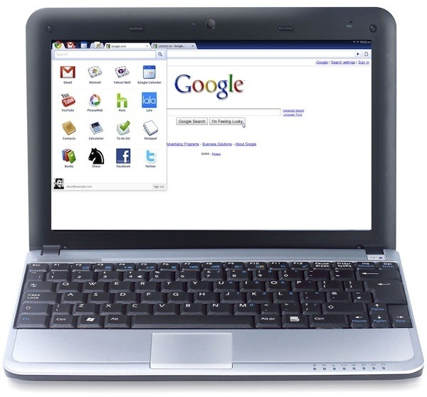 chromebook Google to launch Chrome OS Netbooks at CES 2011