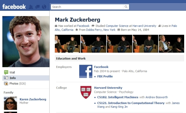 Facebook new layout Facebook Profile Upgrade Gives You a Charming Persona