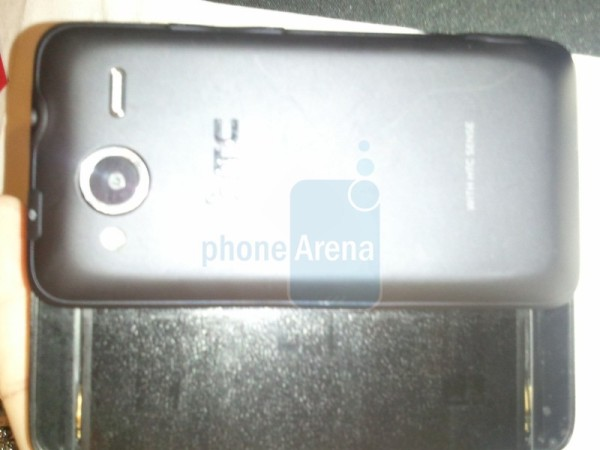 htc evo shift 4g back
