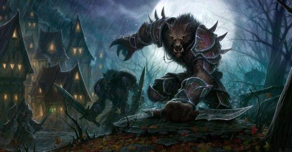 wow worgen World of Warcraft: Cataclysm Race Review – Worgen