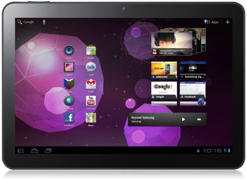 galaxy tab ii Samsung Galaxy Tab 10.1 Detailed Specifications Released with Pictures