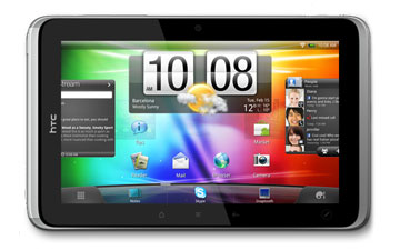 htc flyer HTC Flyer 7 inch Tablet Specifications and Comparison