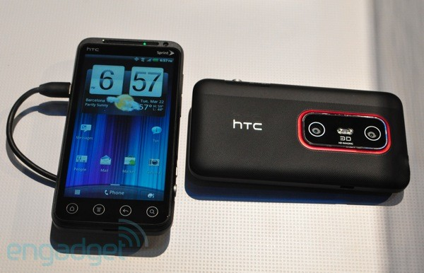 htc evo 3d HTC EVO 3D for Sprint now official [Glasses Free 3D Display]