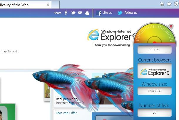 ie speed test Microsoft Rolls Out long awaited Internet Explorer 9