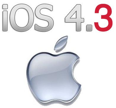 ios 4.31 Download Links for iOS 4.3.3 for iPhone 4, 3GS, iPad, iPod Touch