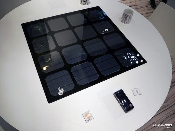 panasonic table solar Panasonic Pulls the Sheets off its Solar Powered Wireless Charging Table