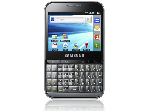 sc001 Samsung Galaxy Pro Announced with Android and Qwerty Keyboard