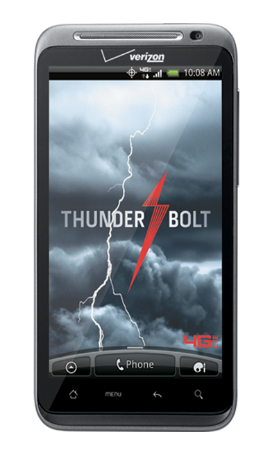 thunderbolt verizon HTC ThunderBolt to get Gingerbread Update in Q2