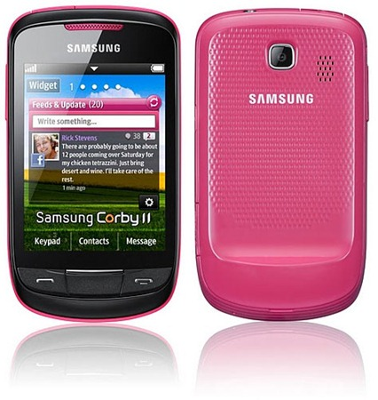 Samsung Corby II thumb1 Samsung strikes back with the Corby II S3850