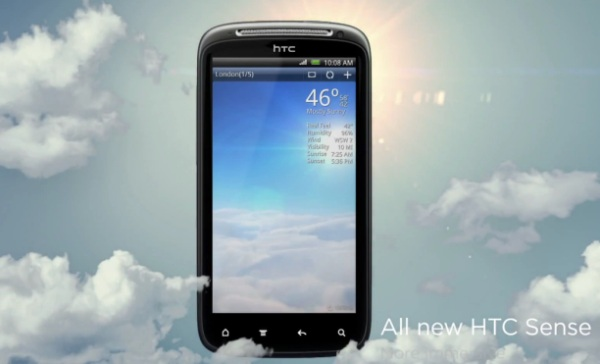 htc sense weather