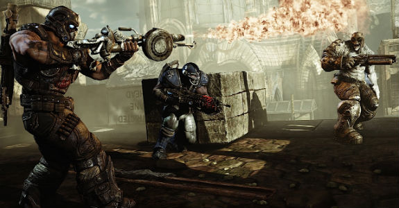 gears of war 3 The Best 5 Games Still to come in 2011