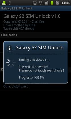 sim unlock sgs2 How to Unlock Samsung Galaxy S II using SIM Unlock Code Finder