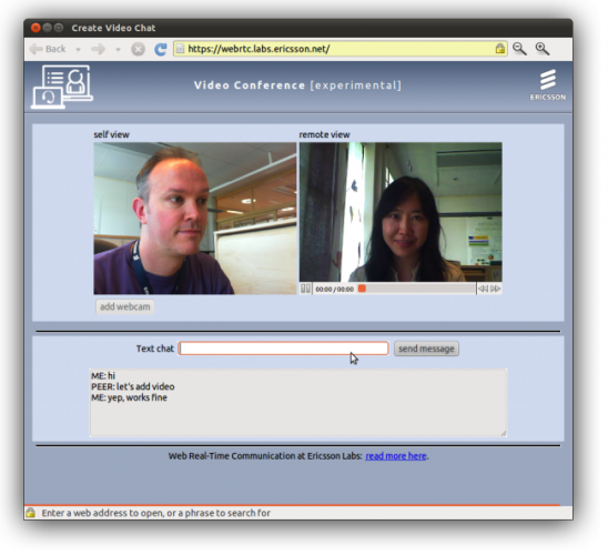 chrome video chat Google to Introduce Skype like Features in Chrome