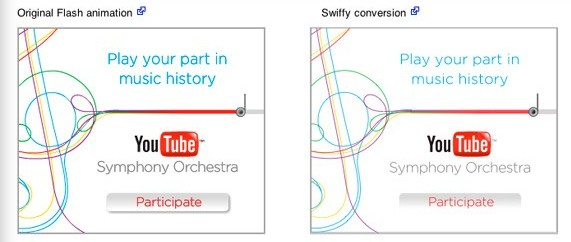 flash to html5 Convert Flash Animations into HTML5 using Google Swiffy