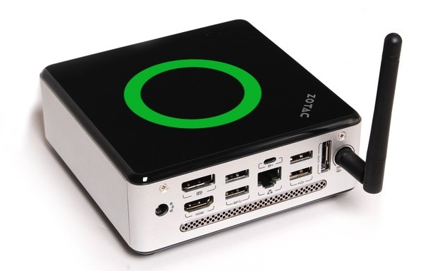 ad10 mini pc Zotac ZBox nano AD10 is a plam sized PC for just $276