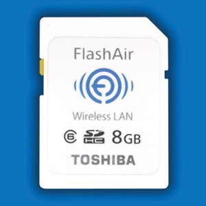 flashair FlashAir: Send and Receive Images to/from your Camera via WLAN