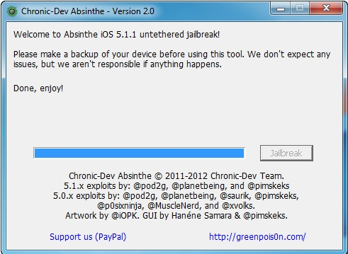 5 How to jailbreak your iPad Absinthe (Windows) [5.1.1]