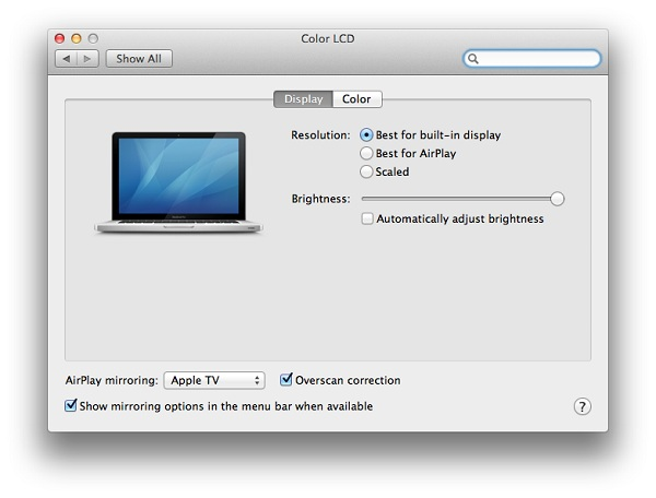 airplay 2 Using Airplay on Mountain Lion